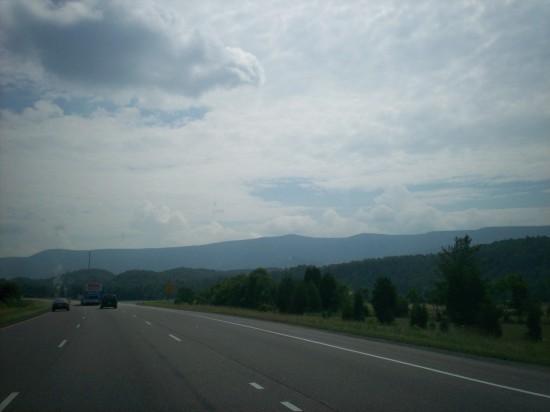 blue mountains!