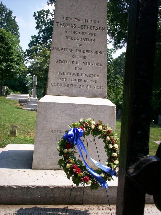 Thomas Jefferson Burial Site!