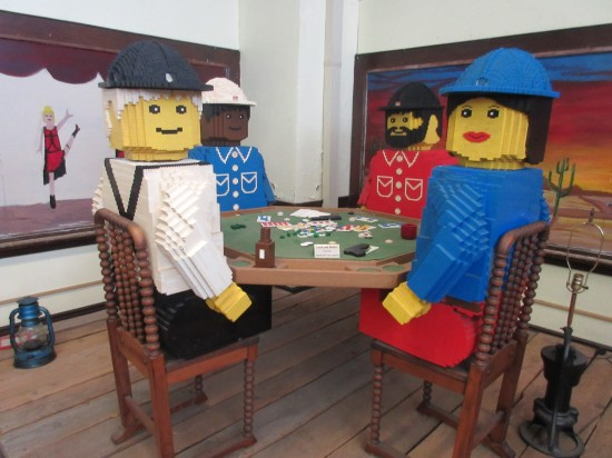 Lego poker game!