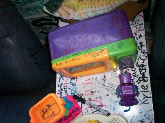 Marker + Toys!