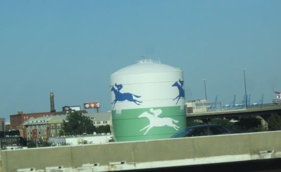 Racehorse Watertower!