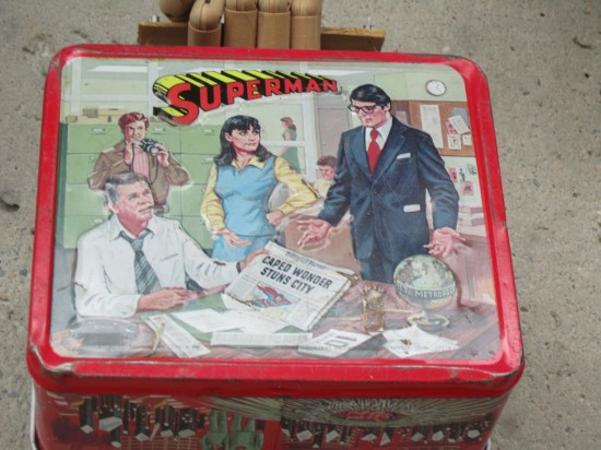 Superman lunchbox!