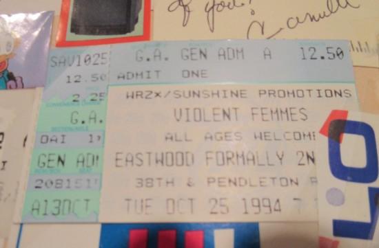 1994-10-25 Violent Femmes!