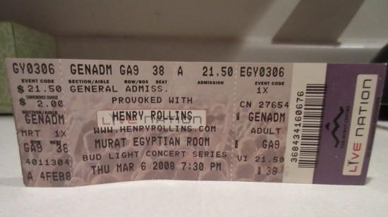 2008-03-06 Henry Rollins!