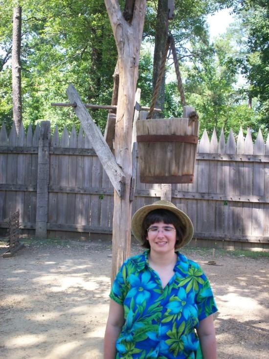 Anne + bucket!