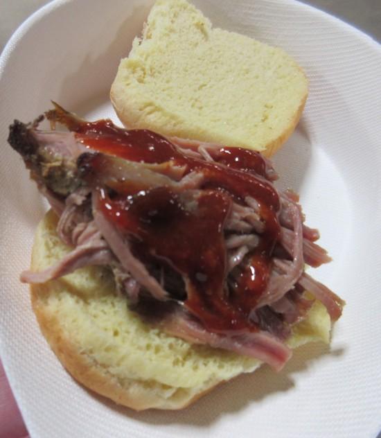BBQ sandwich!