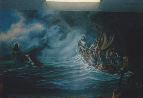 Daily Bread mural!