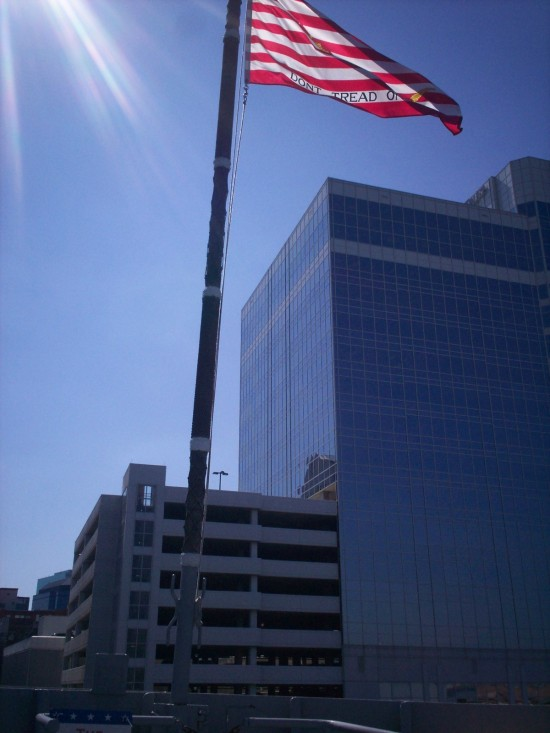 Flag bow!