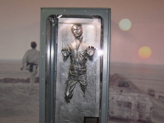 Han Solo carbonite!