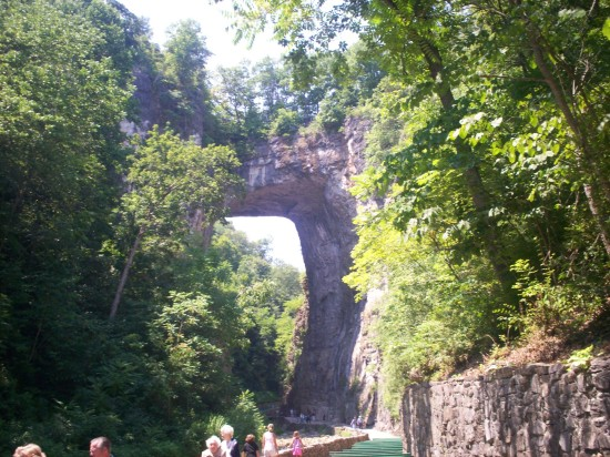 Natural Bridge!
