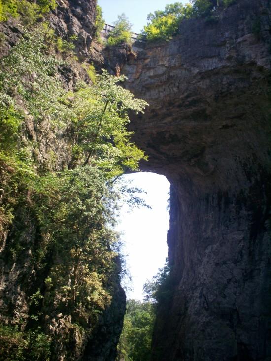 Natural Bridge Prettier!