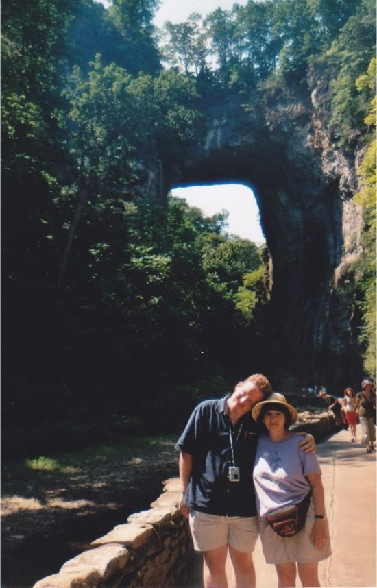 Natural Bridge and us!