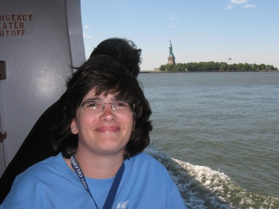 Anne on ferry!