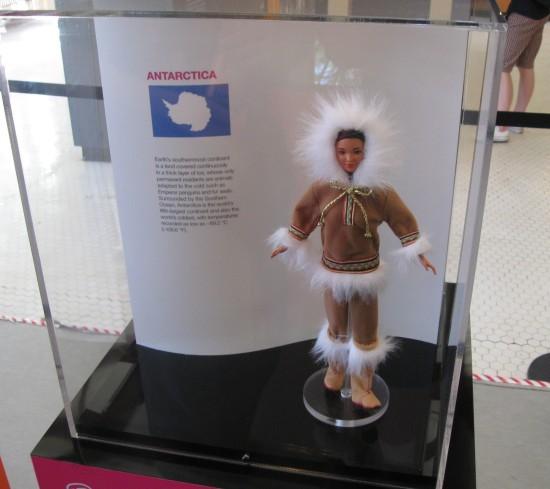 Antarctic Barbie!