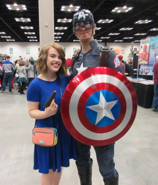 Cap and Peggy!