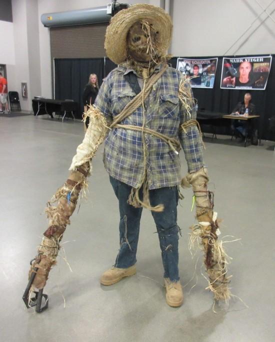 evil scarecrow!