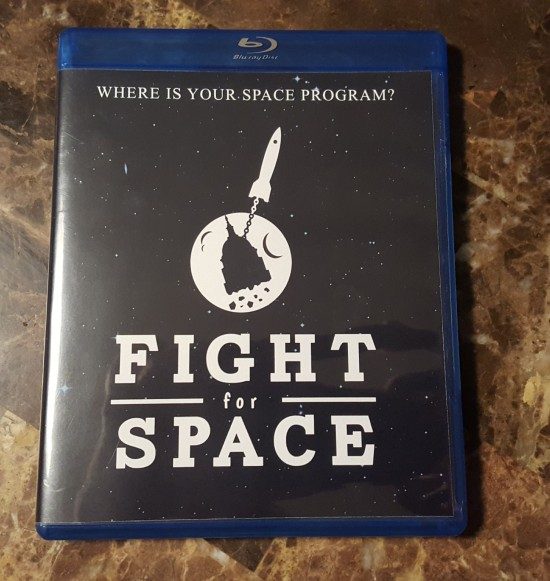 Fight for Space Blu-ray!