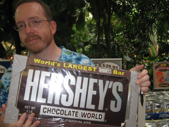 Giant Hershey Bar!