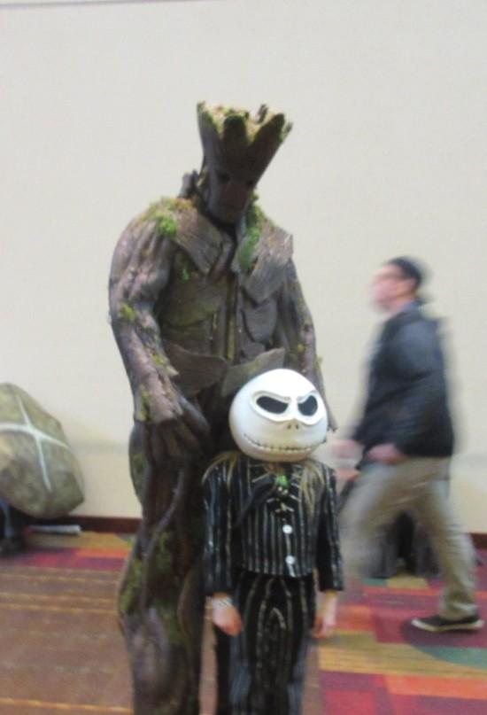 Groot and Jack Skellington!