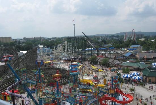 Hersheypark panorama!