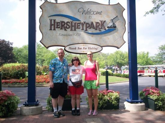 Hersheypark trio!