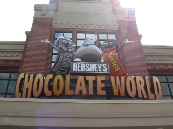 Hershey's Chocolate World!
