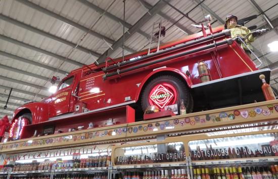hot sauce fire truck!