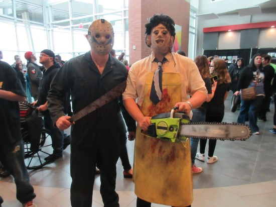 Jason and Leatherface!