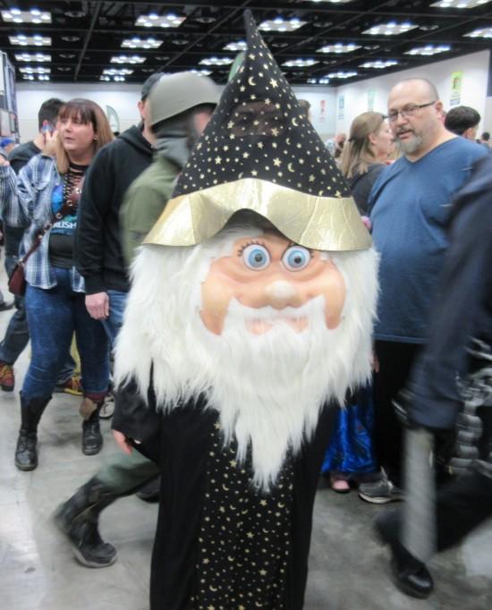 lawn gnome wizard!