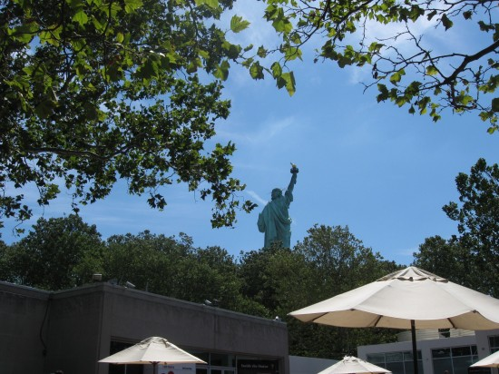 Liberty from Cafe!
