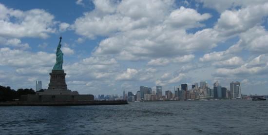 Liberty + Manhattan!