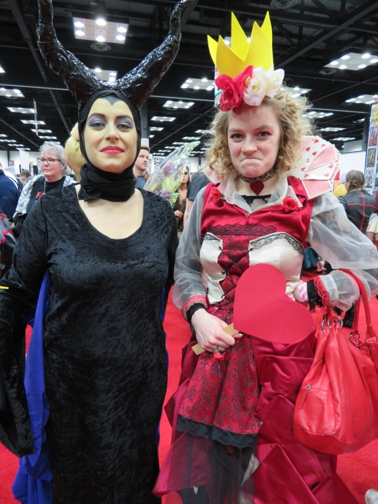 Maleficent + Queen of Hearts!