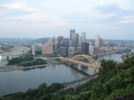 Pittsburgh downtown!