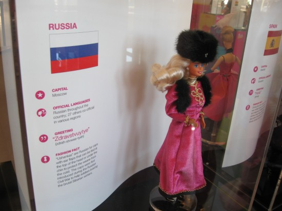 Russian Barbie!