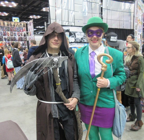 Scarecrow and Riddler!