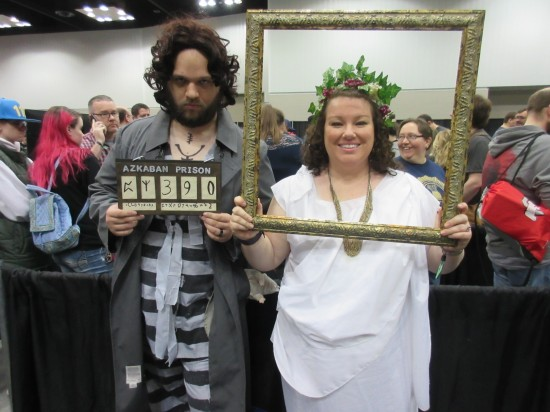 Sirius Black and Fat Lady!