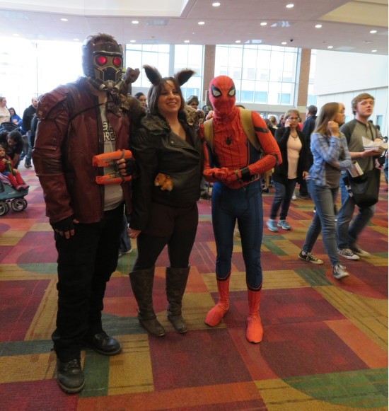 Star-Lord Squirrel Girl Spider-Man!