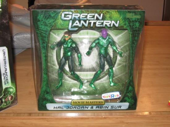 Toys R Us v. Green Lantern!