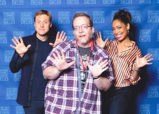 Alan Tudyk and Gina Torres!