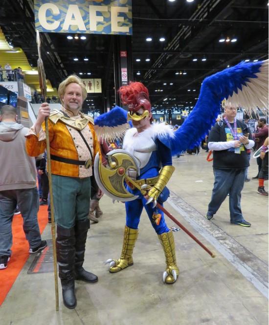 Aquaman and Warrior Woody Woodpecker!
