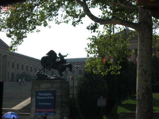 Art Museum + Horseman!