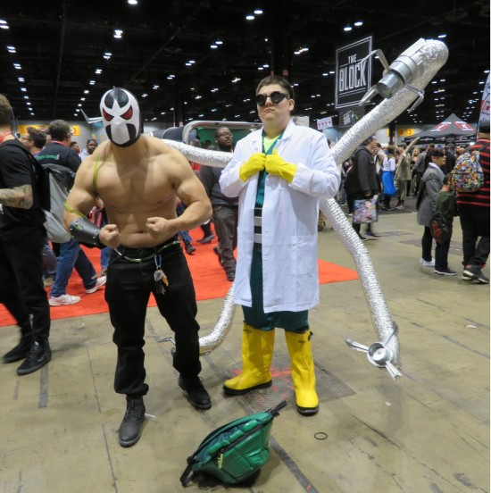 Bane and Doctor Octopus!