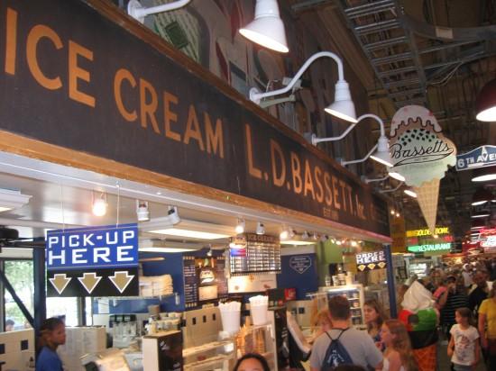 Bassett Ice Cream!