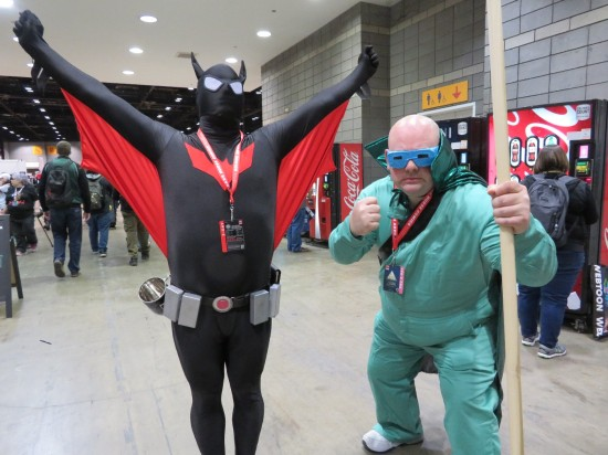 Batman Beyond and Mole Man!