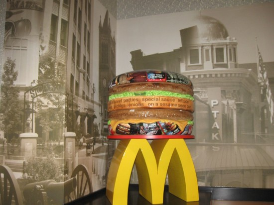 Big Mac Sculpture!