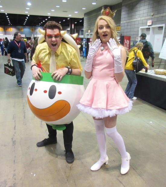 Bowser + Peach!