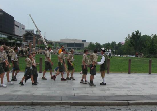 Boy Scout Tour!