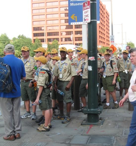 Boy Scouts!