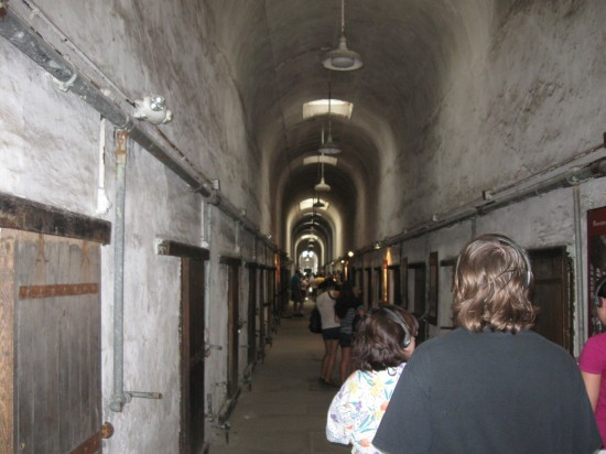 Cell block Tourists!