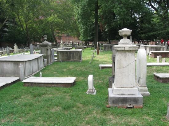 Christ Church Burial Ground!